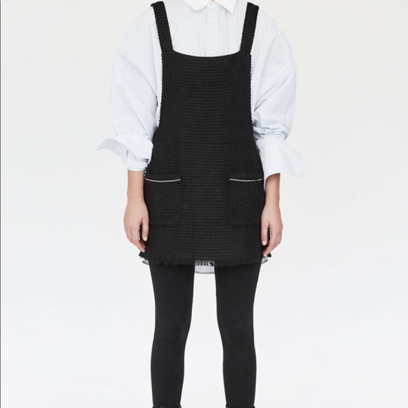 be95a03ed7 Zara Dresses | Dungarees Mini Skirt With Braces | Poshmark